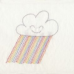 embroidery pattern. I'm smitten with her embroidery and sewing patterns. So whimsical and sweet.
