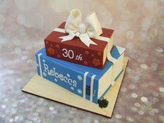 Last minute book cake! by Cake A Chance On Belinda