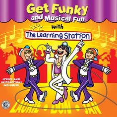 """Keeping bodies in motion and minds in action with movement songs that promote active participation, creative free expression, physical strength and development. Featuring the HIT dance, """"Get Funky""""!"""