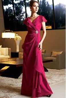 Brides: Hillary-esque Mother of the Bride Dresses | Wedding Dresses and Style | Brides.com