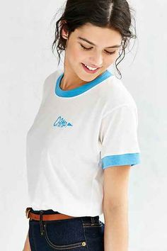 Camp Collection Staff Ringer Tee - Urban Outfitters