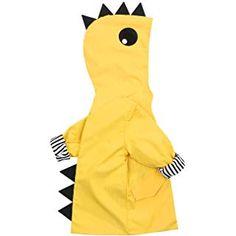 Toddler Baby Boy Girl Duck Raincoat Cute Cartoon Hoodie Zipper Coat Outfit f2fcea149afa