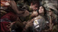 donato giancola  ✒joan of arc...............watch his method