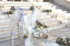 Γάμος Αγ.Τριάδα Wedding Decorations, Table Decorations, Athens, Greece, Destination Wedding, Wreaths, Weddings, Google, Home Decor