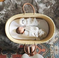 Winding down the last sale of the year. Pictured is 'a perfect little button in our popular Natural Nap & Pack basket. Baby Moses, Little Presents, Baby Baskets, Moses Basket, Mattress Pad, Signature Collection, Leather Handle, Bassinet, Little Ones