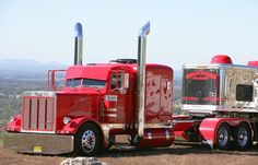 Peterbilt 379; yes please with the custom bloomer trailer:)