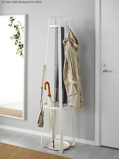 ENUDDEN stalak minimalističkim se izgledom uklapa u svaki hodnik. :) www.IKEA.hr/ENUDDEN_stalak