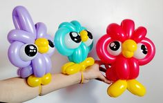 Owl Balloons Twisting How To