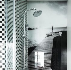 Mozaika szklana brokatowa - Primavera by Fabrizio Moretti - BM123 srebrna czarna mix