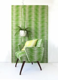 Paradise is here : The new Skinny laMinx Fabric Collection - Elle Decoration South African Design, Vert Turquoise, Flat Interior, Interior Design, Curtains With Blinds, Curtain Fabric, Green Fabric, Dream Rooms, Elle Decor