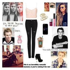"""""""Requested: Luke Imagine in the D!"""" by blueknight ❤ liked on Polyvore featuring NLY Trend, MANGO, Fahrenheit, NARS Cosmetics, Samsung, Christian Dior, Kendra Scott, Love Quotes Scarves, living room and bedroom"""