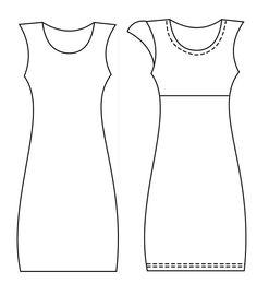 patrones vestidos corte imperio - Buscar con Google