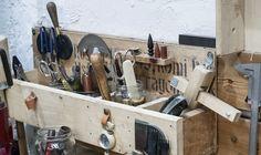 Επίσκεψη στο Parnès !!! | NEANIKON Knife Block, Workshop, Kitchen, Home, Atelier, Cooking, Work Shop Garage, Kitchens, Ad Home