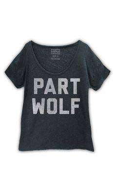 This is awesome because my spirit animal is a wolf and this is also a nod to Parks and Recreation's April Ludgate.