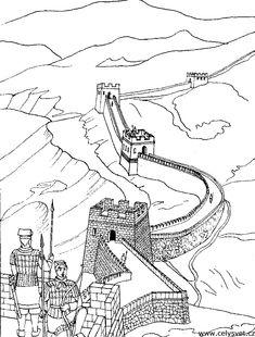 Grande muraille chineA partir de la galerie : Chine Asie