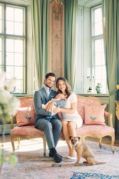 The Swedish royal palace has released five new portraits of the newest member of the royal family – Prince Alexander – with his parents Prince Carl Philip and Princess Sofia