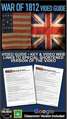 Teaching American History, American History Lessons, Teaching History, History Lesson Plans, War Of 1812, Teaching Social Studies, History Channel, American War, National Anthem