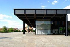 Galería de Berlín. Mies Van der Rohe.