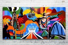 Esse quadro é meu sonho de consumo! LOBO - Pop Art - lobopopart.com.br