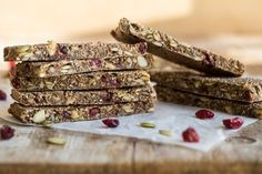 Oh She Glows - Soft Chewy Sugar free baked granola bars