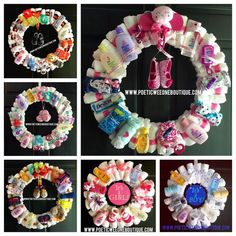 The Ultimate Diaper Wreath Tutorial | Behind The After