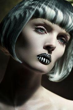 Fault magazine Persephone Reborn beauty 2 #artmakeup