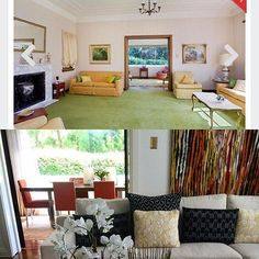 Before and after...#homedesign#styling#interiors#perlandcoprojets#interiordesign: