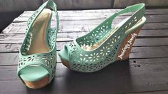 Mint wedges for just $25 at Jourdan's Jewels!
