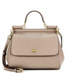 Borsa Miss Sicily Medium in pelle | Dolce & Gabbana