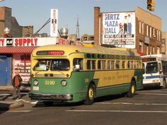 One of the vintage buses that will be in service along the M42 this holiday season