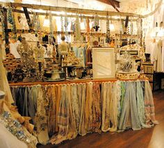 LaurieAnna's Vintage Home: scarf display and much more