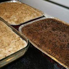 Pumpkin Cake, Chocolate Brigadeiro Cake and Cookie Cream Pie from Brazilian Sweets by Lú, LLC (on Facebook)