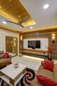 Living Room Tv Unit Designs, Interior Design Living Room, Room Interior, Home Furniture, Furniture Design, Modern Tv Wall Units, Glass Pavilion, Tv In Bedroom, Building A New Home