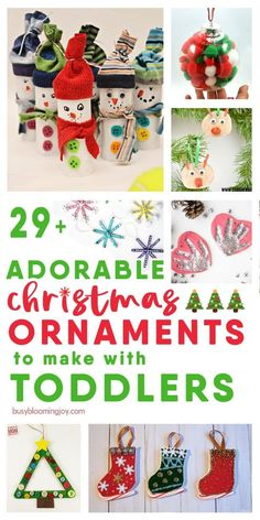 Christmas Tree Decorations For Kids, Preschool Christmas Crafts, Easy Christmas Ornaments, Christmas Ornaments To Make, Christmas Diy, Simple Christmas, Christmas Crafts For Kids To Make Toddlers, Christmas Crafts For Gifts, Craft Gifts