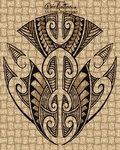 Maori Style Tattoo Designs by ChickTattoo.com