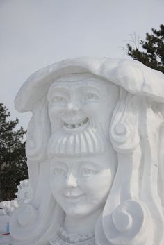 Amazing snow sculptures from around the globe - Socialphy Snow Sculptures, Sculpture Art, Ice Art, Snow Art, Amazing Art, Awesome, Snow And Ice, All Nature, Winter White