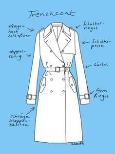 Der Trenchcoat wird in den unterschiedlichsten Variationen angeboten und ist ein zeitloses Basic für fast alle Anlässe und Figurtypen.