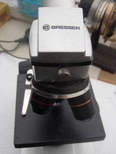 Bresser Mikroskop 4x 10x 40x mit Netzteil&1x Okular wf 10x