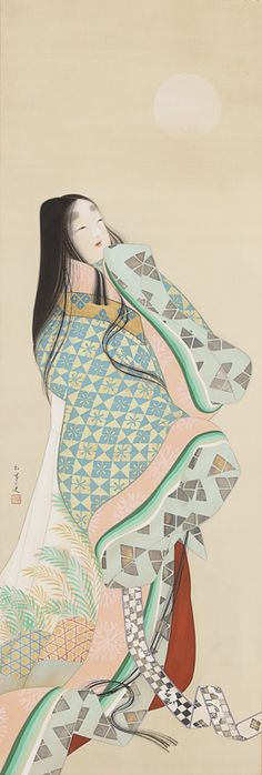 Uemura Shōen (1875 – 1949) was the pseudonym of an important female artist in Meiji, Taishō and early Shōwa period