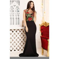 Rochia Sally este o rochie eleganta, cu trena, potrivita pentru un eveniment special. Are un croi mulat. Se inchide in spate cu fermoar. Compozitie: 90% Poliester, 10% Lycra Rochii Crissmar Sally, Nasa, Formal Dresses, Black, Fashion, Dresses For Formal, Moda, Formal Gowns, Black People
