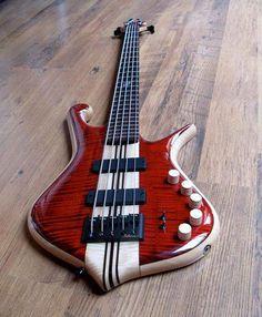 Luthman 5-String Bass Guitar.