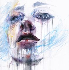 breathing by agnes-cecile on deviantART. She also makes painting videos. Check them out to see her process