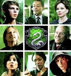 Once Upon a Time meets Harry Potter Slytherin House
