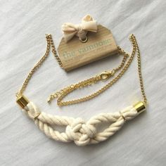 #jewelry #accessories #knot