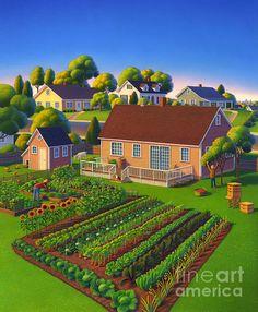 Backyard garden - Robin Moline