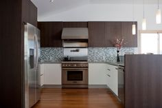 Before&After: 60's Outdated Kitchen to Functional Contemporary - Houzz 101c