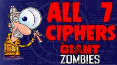 *All 7* Ciphers & Codes On Giant Solved/Methods/Locations/Unsolved (Blac...