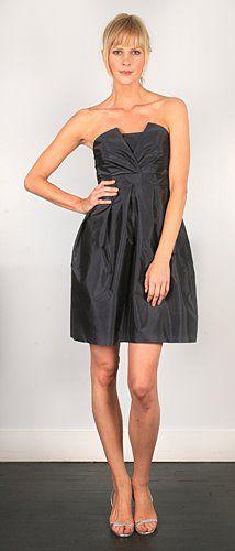 short bridesmaid dress