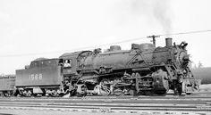 L&N RR 2-8-2 locomotive #1568