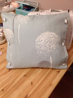 Final cushion for bed set